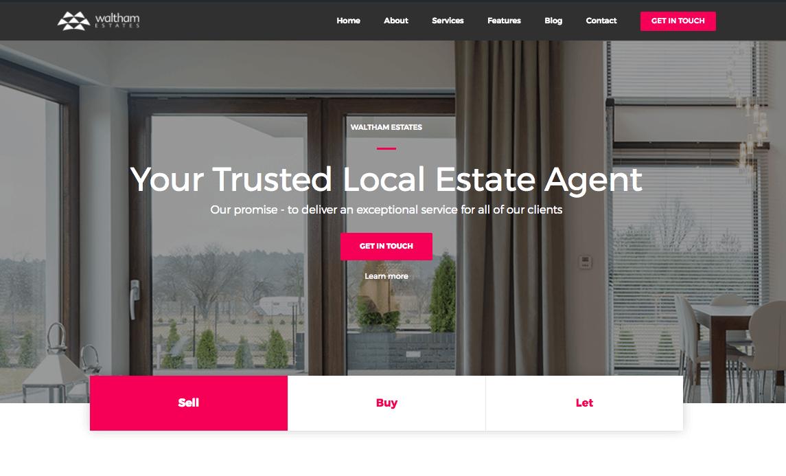 New Website Waltham Estates